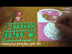 [Re-ment] SAN-X) Rilakkuma birthday cake #4 - YouTube Youtube Happy, Rement, Rilakkuma, Birthday Cake, San, Collection, Birthday Cakes, Cake Birthday