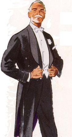 Sophisticated. Rather looks like Ambrose Senior