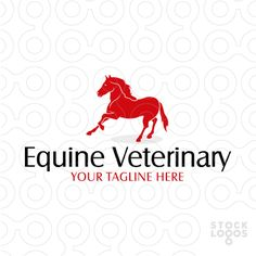 Logo is well suited for a horse breeder, horse country club, horse riding school, horse veterinary or anything else related with equine and equestrian.