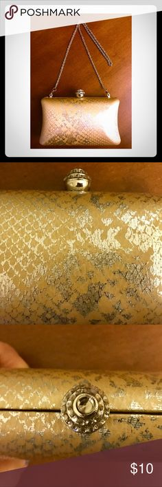 Evening Clutch Unique Two Tone Gold/Silver Clutch to compliment your evening look. Expressions New York City Bags Clutches & Wristlets