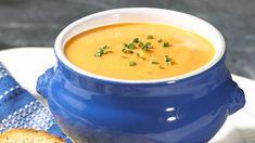 Potage crémeux aux carottes