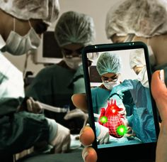 Augmented reality In education and healthcare. Educational Technology, Science And Technology, Medical Technology, Futuristic Technology, Augmented Technology, Augmented Virtual Reality, Interactive Media, Blended Learning, Mobile Learning