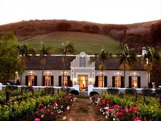 Grande Roche Hotel in Paarl, Western Cape Province, South Africa - Travel Republic Bungalows, Pergola, Dutch House, Small Luxury Hotels, Luxury Travel, Luxury Homes, Cape Town South Africa, Best Wedding Venues, Cape Town Wedding Venues