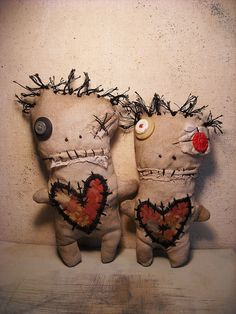 Voodoo Basile and Voodoo Degare by junkerjane, via Flickr