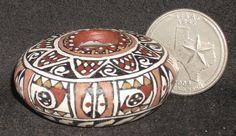 Miniature Southwest Native American Indian Gloria Bogulas Pot 1:12 #6567  #GloriaBogulas
