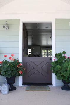Dutch Door via @lindsey cheney