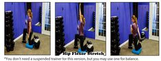 Suspension Stretch Gallery - Suspension Fitness & Beyond Quad Stretch, Stretch Bands, Stretches For Runners, Suspension Trainer, Good Posture, Workout For Beginners, How Are You Feeling, Training, Activities