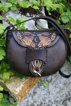 I LOVE LOVE LOVE THIS WANT WANT WANT  warm brown Wayland bag with corn hares design