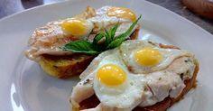 Canapés con huevo de codorniz