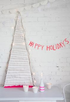 ACM1_12_13 happi holiday, creativ mint, neon christma, christma tree, white christmas, happy holidays, diy christmas tree, christmas trees
