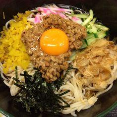 Natto soba/fukushoan