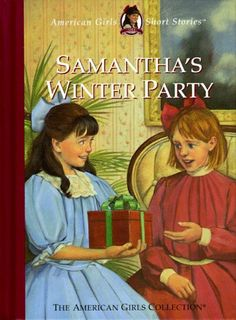 Samantha's Winter Party (American Girls Short Stories): Samantha has planned a party with a gift exchange. Nellie can't afford presents for everyone, but she manages to surprise them anyway! American Girl Books, American Girl Clothes, American Girls, Ag Dolls, Girl Dolls, Turquoise Flower Girl Dress, Outdoor Winter Wedding, Kids Book Series, Storybook Characters