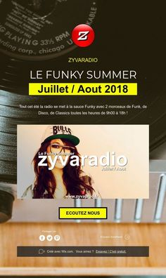 ZYVARADIO     LE FUNKY SUMMER     Juillet / Aout 2018  C'est partis pour le Funky Summer tout l'été sur #zyvaradio ! Ecoutez nous ! Movie Posters, The Body, Film Poster, Popcorn Posters, Film Posters