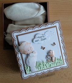 Baby Cards, Projects To Try, Paper Crafts, Frame, Albums, Scrapbooking, Creative Cards, Bebe, Cards