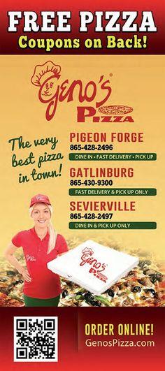 Geno S Pizza Pigeon Forge Gatlinburg Kodak Tn