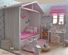 OOAK Diorama Shabby Cottage 1 | Flickr - Photo Sharing!