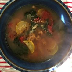 Tuscan Bean, Chicken, and Italian Sausage Soup Photos - Allrecipes.com