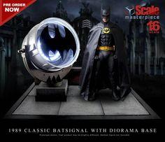 Custom 1/6 Classic Batsignal for Batman 1989 Hot Toys Action Figure!