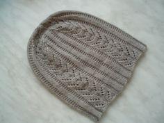 My Paravel Hat in baby alpaca yarn