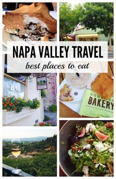Napa Valley: Where to Eat - Are you traveling to Napa Valley? Don't miss a chance to enjoy delectable chocolate croissants, lobster risotto, campfire pie and more! Check out my list of the best places to eat in Napa Valley! #napavalley