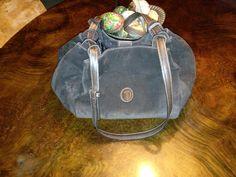 Trussardi suede stunning bag
