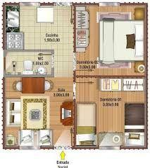 Resultat De Recherche D Images Pour Planos De Casas De Menos De 50m2 Casas Pequenas E Simples Projetos De Casas Simples Modelos De Casas Pequenas