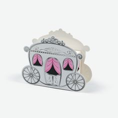 Carriage Treat Boxes - OrientalTrading.com   / cajitas para sorpresas o dulces