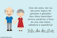 Mensagem para Dia dos Avós