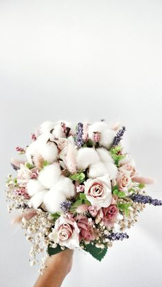 Cottons with artificial flowers. Cottons with artificial flowers. The post Wedding hand bouquet. Cottons with artificial flowers. 2019 appeared first on Cotton Diy. Hand Bouquet Wedding, Boquette Wedding, Wedding Hands, Post Wedding, Wedding Bouquets, Wedding Flowers, Wedding Stuff, Wedding Ideas, Wedding Dresses