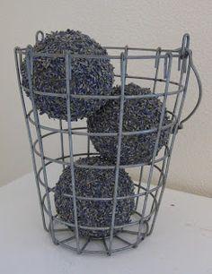 Homemade Delightful Home Lavender Balls