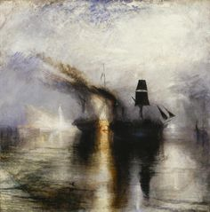 Joseph Mallord William Turner, 'Peace - Burial at Sea' exhibited 1842