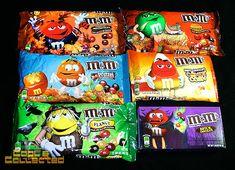 M&M's Halloween #packaging
