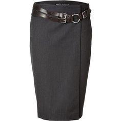One heck of a skirt - Ralph Lauren pencil skirt
