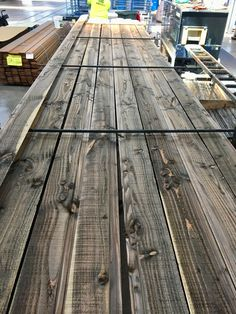 Looking for a natural grey or black timber finish? Iron surface-based treatments are a great option with our Vulcan and Tundra timbers Modern Barn House, Timber Cladding, Good Ol, Farm House, Natural Wood, Townhouse, Old School, Cube, Zero