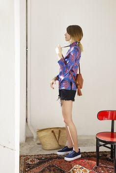 Fortunately, New York has style too! If Veronika Heilbrunner looks familiar…