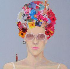 Laura Mattos  óleo sobre tela 30x30 2014