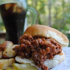Yep....THIS was BBQ when I was growing up.  (I had never heard of a sloppy joe...lol)    Pennsylvania Coal Region Barbecue Allrecipes.com