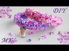 Видео мастер-класс: создаем весенний ободок с цветами сирени - Ярмарка Мастеров - ручная работа, handmade