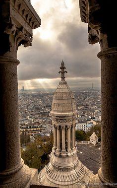 Butte Montmartre, Paris.
