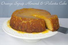 Orange Syrup Almond & Polenta Cake