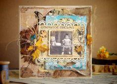 """Vintage Cafe Card Challenge: Задание вдохновение """"Аutumn Inspiration"""""""