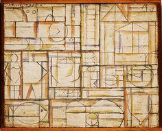 Joaquin Torres Garcia painting | Torres-Garcia, Joaquin (1874-1949) - 1929 Composition (Philadelphia ...