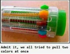 Can't remember what they were called but they were cool!  My pink would always run out before anything else though!!