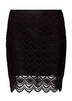 Mango lace miniskirt, £59.99 - skirt - skirts - best skirts - high street - fashion - shopping - marie claire