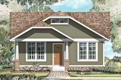 Houseplans.com Plan #424-198 Front Elevation