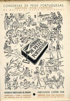 Portugalize.Me_Conservas Portuguesas 2 Vintage Labels, Vintage Ephemera, Vintage Cards, Vintage Food, Vintage Advertising Posters, Vintage Advertisements, Vintage Posters, Portugal, Vintage Prints