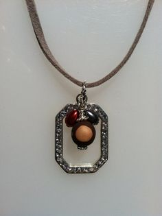 Ohio State Crystal Bling Block O Necklace by JNoelJewelry on Etsy, $18.00