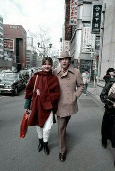 """Sophie Marceau with Claude Pinoteau, """"la boum"""", 1980"""