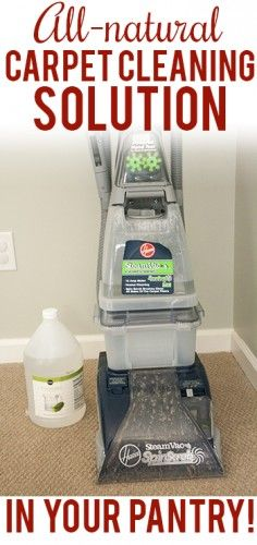 2 Recipes of Carpet Cleaning Solution – Green Cleaning  | Natural Household cleaners - The Homestead Survival