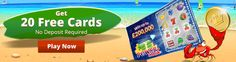 20 Free Scratch Cards Real Cash Bonus. No deposit required. http://www.best-games-directory.com/prime-scratch-cards.html